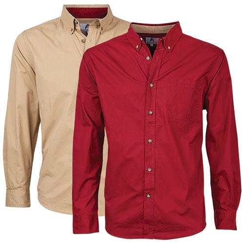 Men's Twill Shirt - 2 Pack