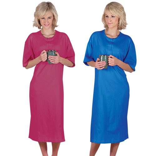 Metropolitan Women's Henley Shirt - 2 Pack