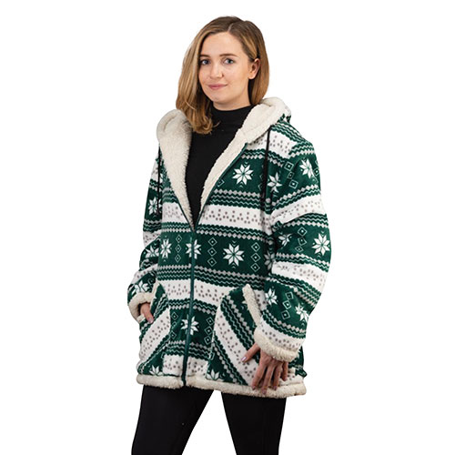 Trailcrest Green Women's Snowflake Jacket