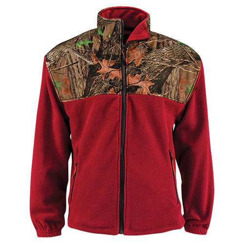Trailcrest Mossy Oak Men's Fleece Jacket