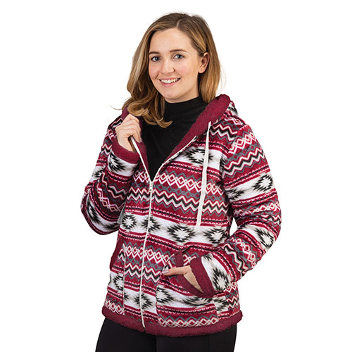 Trailcrest Women's Full-Zip Aztec Jacket
