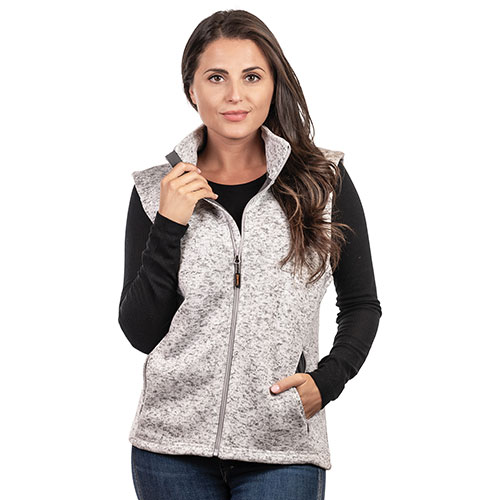 Trailcrest Women's Full-Zip Knit Sweater Vest