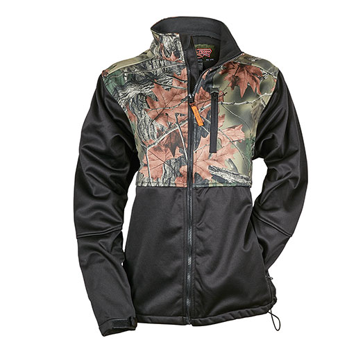 Trailcrest Black Camo Women's Jacket