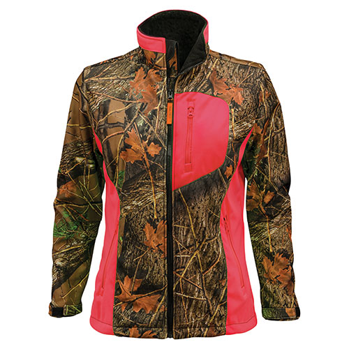 Trailcrest Women's Pink Camo Waterproof Jacket