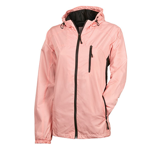 Victory Outfitters Women's Poly Rain Jacket - Melon