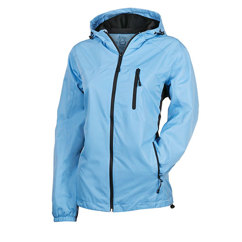 Victory Outfitters Women's Poly Rain Jacket - Blue