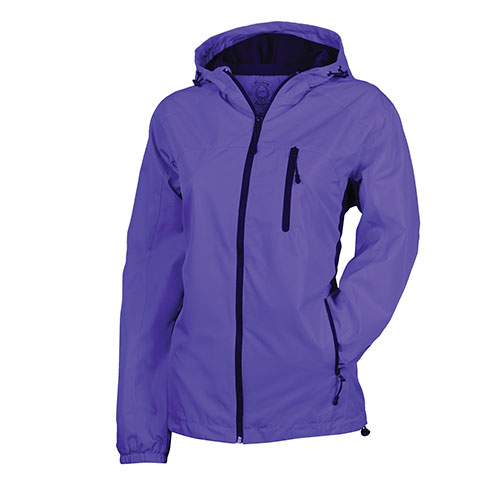 Victory Outfitters Women's Poly Rain Jacket - Purple
