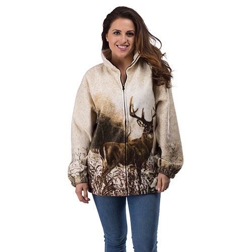 Wildkind Women's White Tail Fleece Sweatshirt