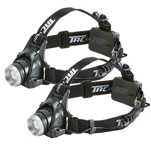 Bell and Howell TacLight Headlamp - 2 Pack