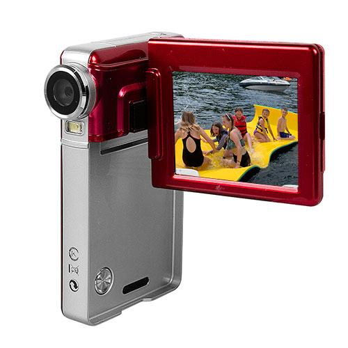 Vivitar DVR975 10.1MP HD Digital Camcorder - Red