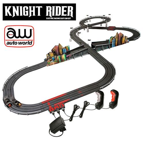 Knight Rider Slot Race Car Set