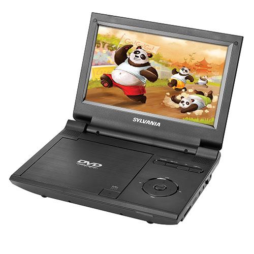 "Sylvania 9"" Portable DVD Player with Remote"