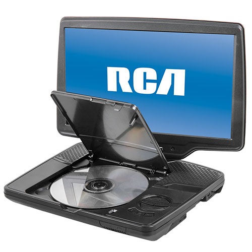 RCA 10inch Portable DVD Player with Swivel Screen