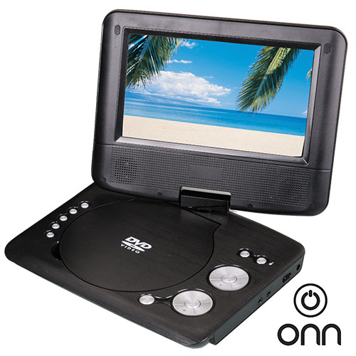 ONN Portable DVD Bundle