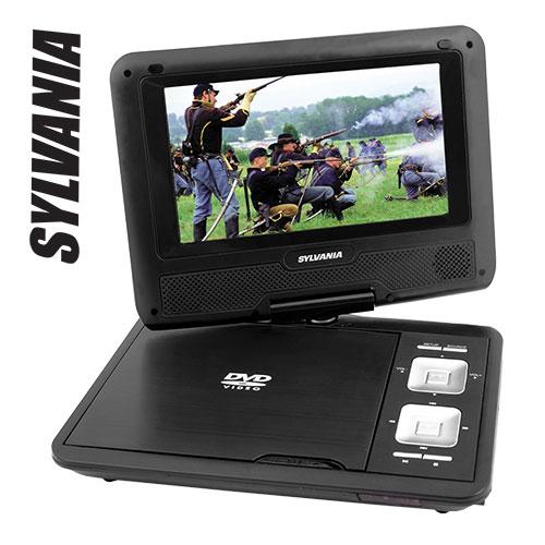 Sylvania Portable DVD Player Bundle