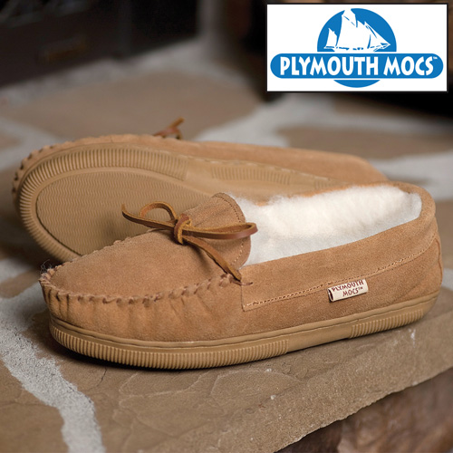 Plymouth Mocs Mens Moccasins
