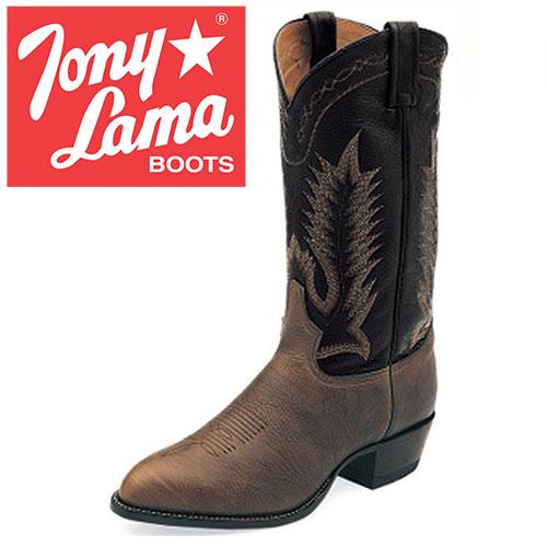 Tony Lama Chocolate Taurus Boots