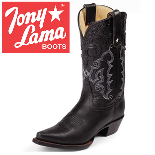 Womens Black Thorghbred Boots