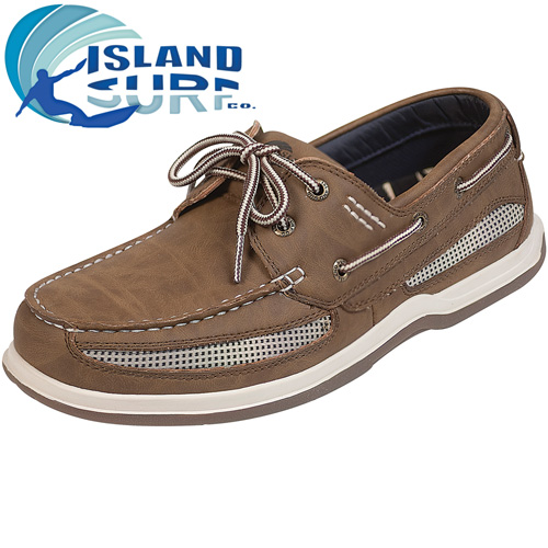 Island Surf Dark Brown Cod Shoes