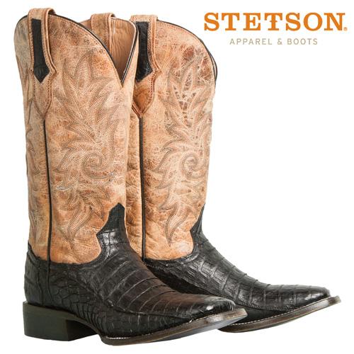 Stetson Caiman Boots