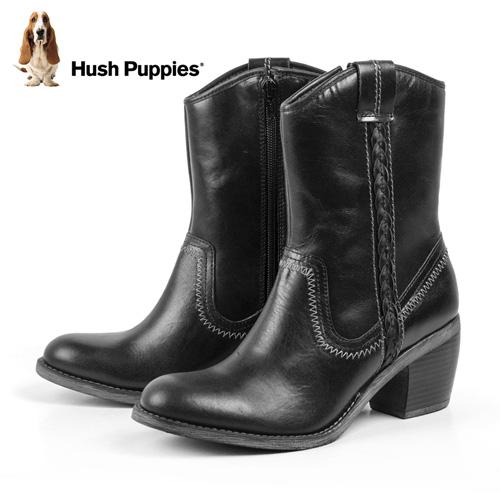 Hush Puppies Waterproof Boots - Black