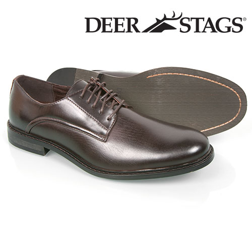 Deer Stags Dark Brown Memphis Shoes