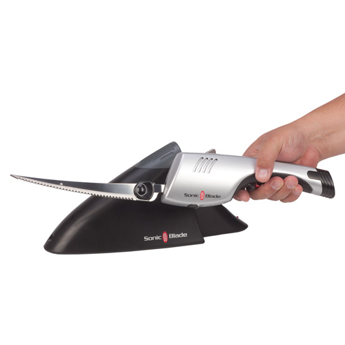 Carving Knife Cordless: Sonic Blade Cordless Electric Knife Wireless Power Blade