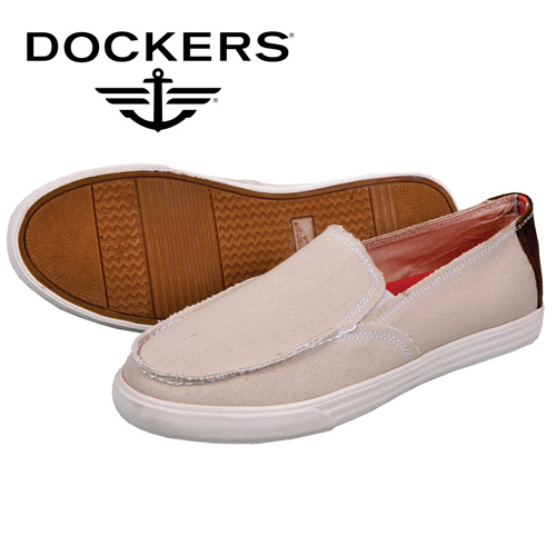 Dockers Cassel Canvas Shoes - Cream
