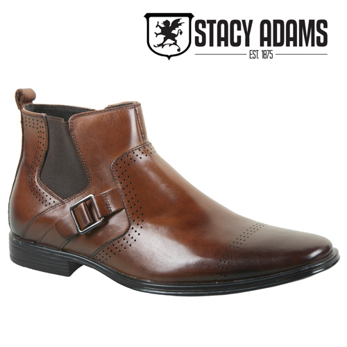 Stacy Adams Ankle Boots - Brown