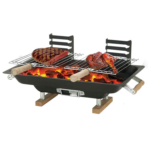 Steel Hibachi BBQ Grill