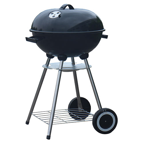Better Chef 17 inch Black Charcoal Kettle Grill