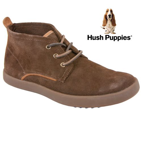 Hush Puppies Roadside Chukkas - Brown
