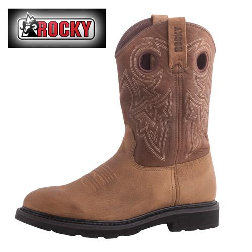Rocky Farmstead Western Boots