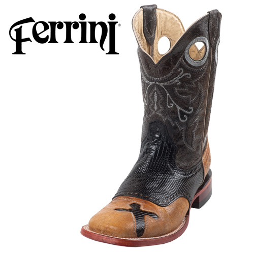 Ferrini Cross Lizard Boots