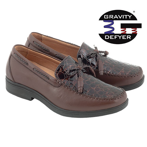 Gravity Defyer Rasmus Loafers - Brown