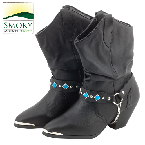 Smoky Mountain Belt Slouch Boots