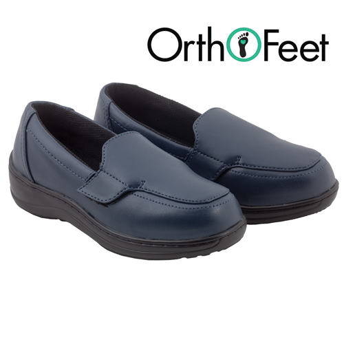 Womens Navy Astoria Loafers