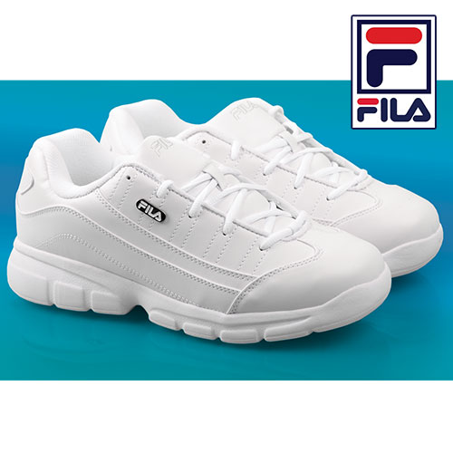 Fila White Athletic Shoes
