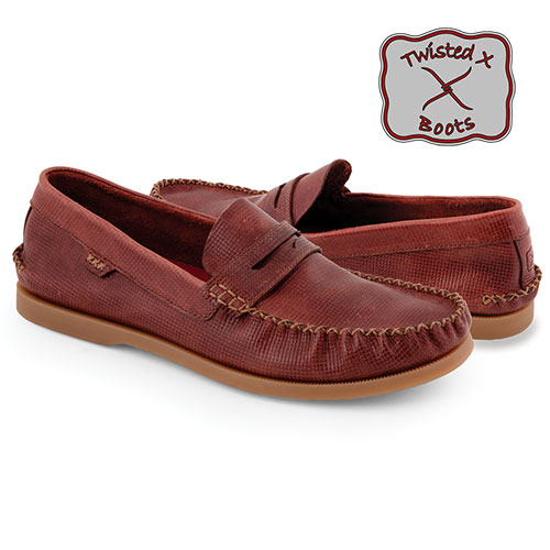 Twisted X Penny Loafers
