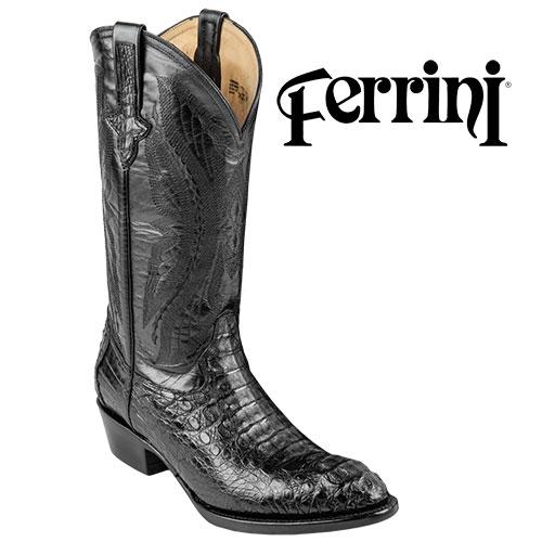 Ferrini Caiman Cowboy Boot