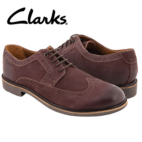 Clarks Wahlton Wing-Tips