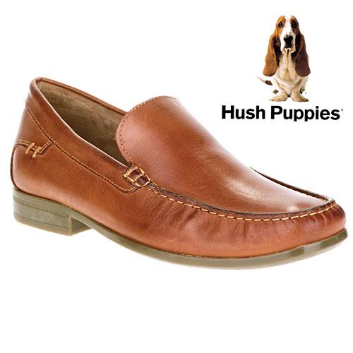 Hush Puppies Mens Tan Circuit Shoes