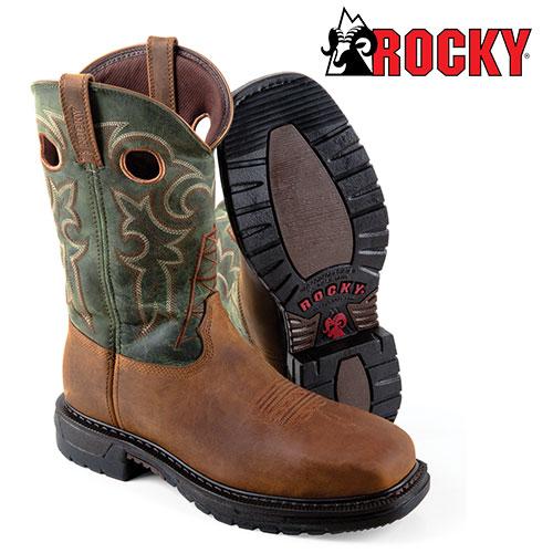 Rocky Ride Western Boot