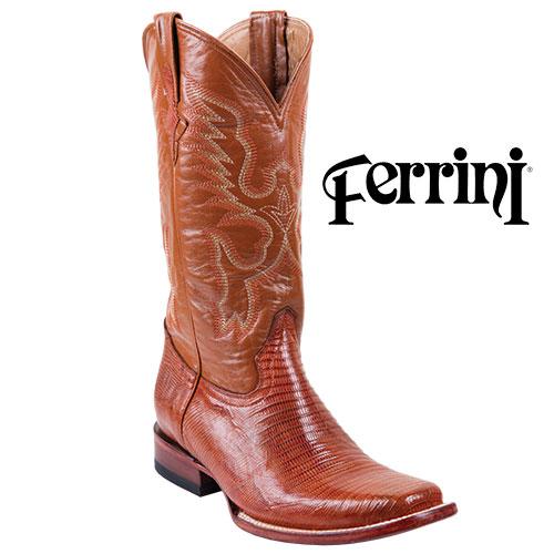 Men's Ferrini Teju Lizard Boots