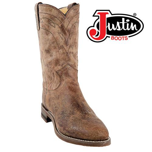 Justin Tan Road Boot