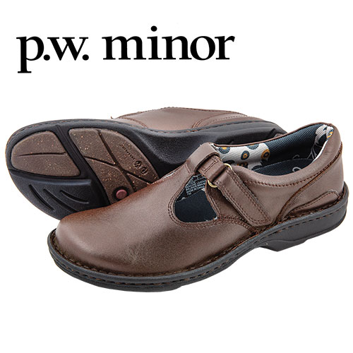 PW Minor Womens Bronze Sophia Shoes