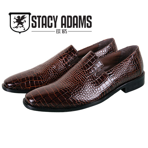 Stacy Adams Galindo Slip-Ons - Cognac