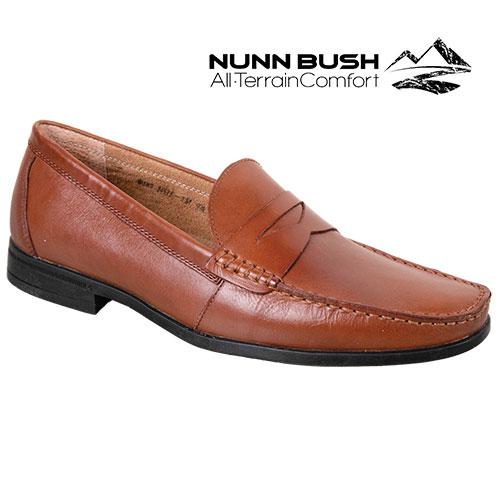 Nunn Bush Penny Loafers - Cognac