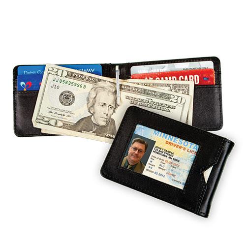 Blemished Carlos Chavez RFID Clip Wallet