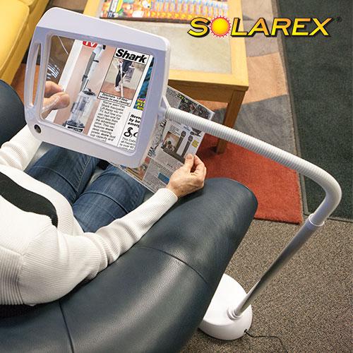 Open Box Solarex 5X Magnifier Lamp